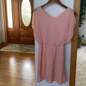 SLEEVELESS SPRING DRESS